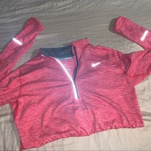 Women's half zip running top- Nike element